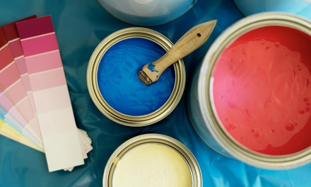 Interior Painting for One or Two Rooms, or One Room and a Bathroom from FX Painting (Up to 69% Off)