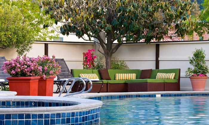 null - Stockton: Stay at Roman Spa Hot Springs Resort in Calistoga, CA, with Dates into April
