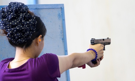 Handgun Classes and Range Outings at Sgt. Everetts Gun Range (Up to 52% Off). Three Options Available.