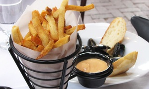 Sips Bistro & Bar: French Cuisine at SIPS Bistro & Bar (Up to 42% Off). Two Options Available.