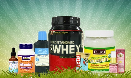 $15 for $30 Worth of Vitamins, Supplements, Herbs, and Health Food from LuckyVitamin.com