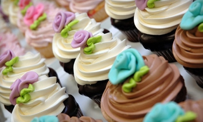 A Piece O' Cake - Meridian: $18 for a Dozen Gourmet Cupcakes at A Piece O' Cake ($36 Value).
