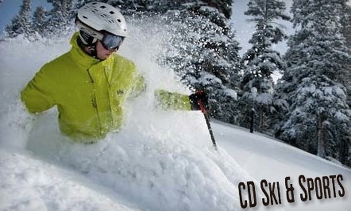 CD Ski & Sports and Doug & Lynda's Ski Shop - Multiple Locations: $20 for $40 Worth of Outdoor Sports Gear and Apparel at CD Ski & Sports or Doug & Lynda's Ski Shop