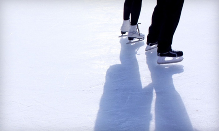 Boulder Creek Events - Multiple Locations: Ice-Skating Outing for Four or Six with Open-Skate Admission and Skate Rental from Boulder Creek Events (Up to 56% Off)