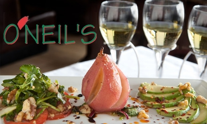 O'Neil's - Winnetka: $15 for $30 Worth of Italian Cuisine and Drinks at O'Neil's in Winnetka