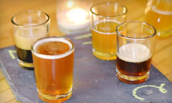 Beer Engine Microbrewery & Tap Room - Danville: $28 for Four Beer Samples, Two Souvenir Pint Glasses, and Two Half-Gallon Growlers of Beer at Beer Engine Microbrewery & Tap Room in Danville ($56 Value)