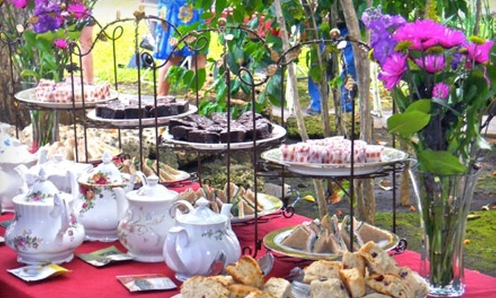 Mission Houses Museum Café and Tea Parlor - Downtown Honolulu: $38 for Lucia Holman Tea Service for Four at Mission Houses Museum Café and Tea Parlor