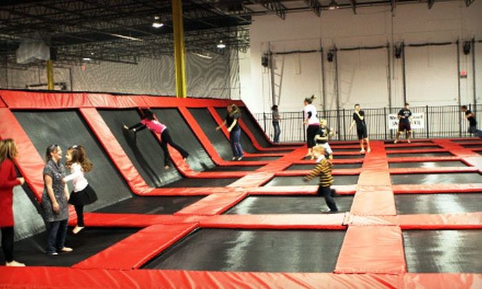 Xtreme Trampolines - Multiple Locations: Two- or Four-Person Trampoline Outings for Monday–Thursday or Any Day at Xtreme Trampolines (Up to 55% Off)