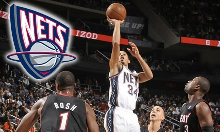 Blue or Red Section Tickets to a New Jersey Nets Game. Choose from Five Games.