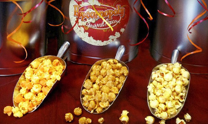 Popcornopoly - Burning Tree Apartments: $10 for $20 Worth of Gourmet Popcorn at Popcornopoly in Hermitage