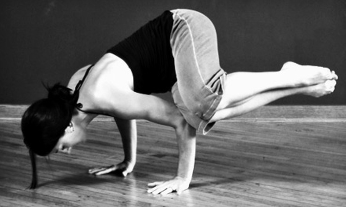 Yogarithm Studios - Kenosha: $15 for Five Yoga Classes at Yogarithm Studios in Kenosha (Up to a $60 Value)