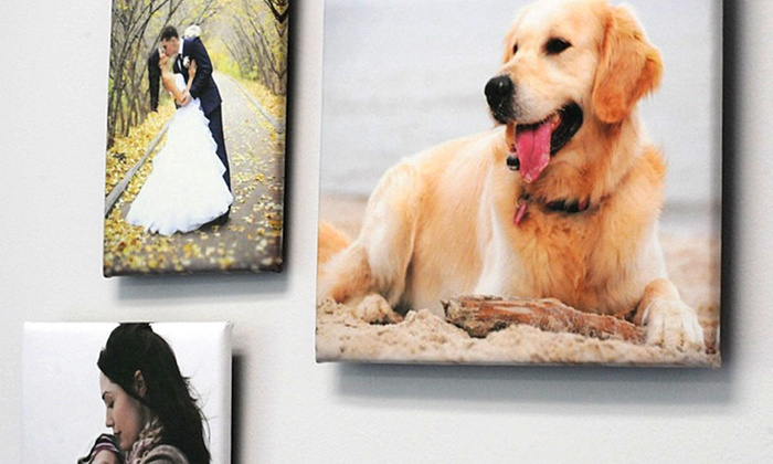 """11""""x14"""", 14""""x14"""", 12""""x18"""", or 16""""x20"""" Customized Thin-Float Canvas Print from MyPix2.com (Up to 74% Off)"""