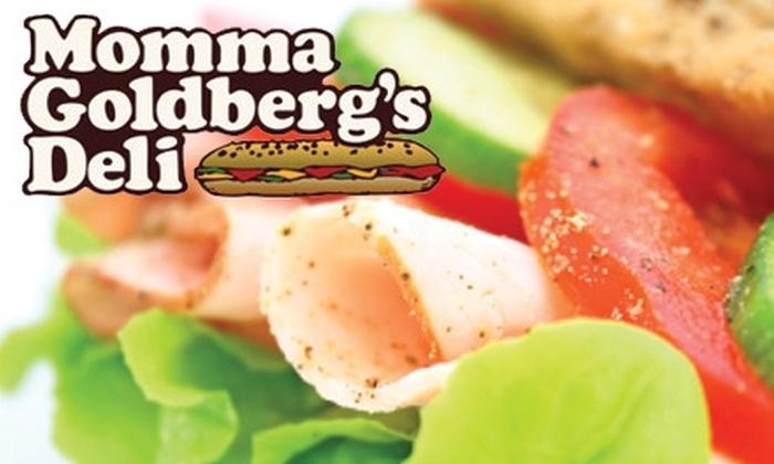 Momma Goldberg's Deli - Overton: $5 for $10 Worth of Sandwiches, Salads, and More at Momma Goldberg's Deli
