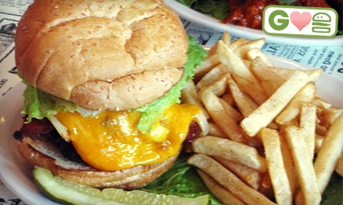 Down the Hatch - Lower Garden District: $10 for $20 Worth of Burgers and Drinks at Down The Hatch