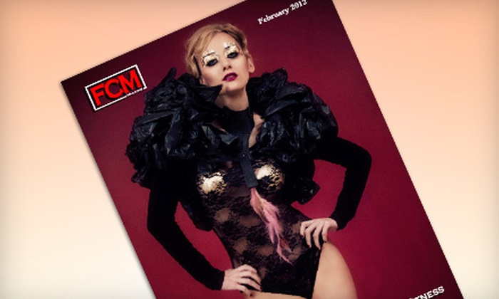 """Fashion Chicago Magazine - Central Chicago: $20 for a 12-Issue """"Fashion Chicago Magazine"""" Subscription (Up to $136.80 Value)"""