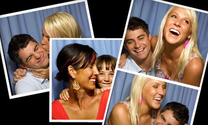 A Casino Event Company - Gaslamp: Three- or Four-Hour Photo-Booth Rental from A Casino Event Company (Up to 57% Off)