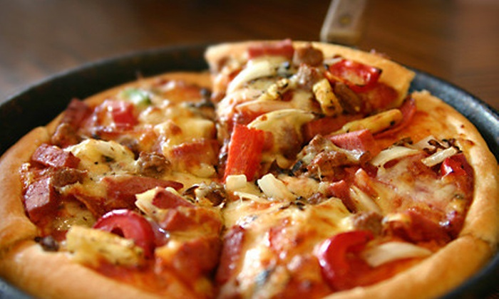 Pino's Pizza & Pasta - Maplewood - Oakdale: $10 for $20 Worth of Pizza and Italian Fare at Pino's Pizza & Pasta