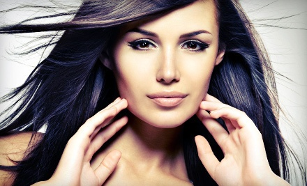 Two, Four, or Six Shampoo and Blow-Dry Sessions at Visual Elegance Hair Studio (Up to 74% Off)