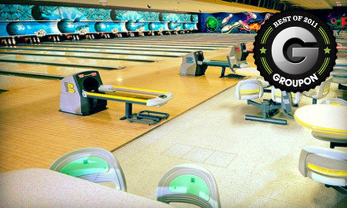 Oops Alley - Pace: Bowling for Up to Four on a Weekday or Weekend at Oops Alley (Up to 64% Off)