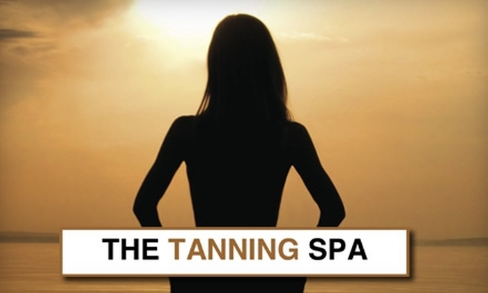 The Tanning Spa - Multiple Locations: Tanning, Custom Airbrush, or Lumiere Photo-Therapie Sessions at The Tanning Spa (Up to $299 Value). Choose from Three Options.