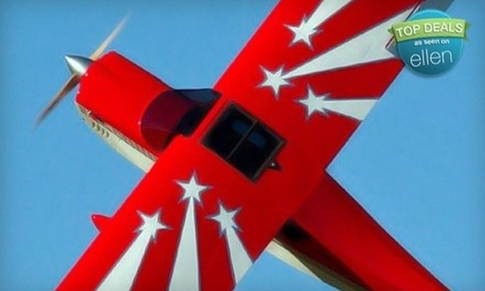 Specialized Helicopters - Watsonville: $64 for Aerobatic Airplane Ride from Specialized Helicopters ($129 Value)