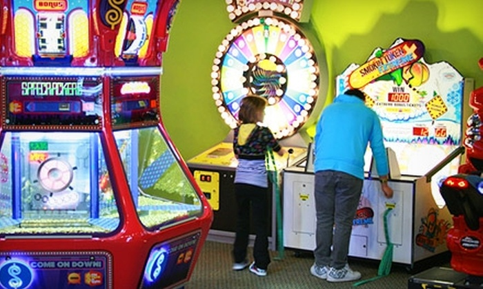 Gamerz USA - Westland: $25 for Four Games of Laser Tag or Gaming Passes, 30 Tokens, Pizza, Fries, and Soda at Gamerz USA in Westland (Up to $68.31 Value)