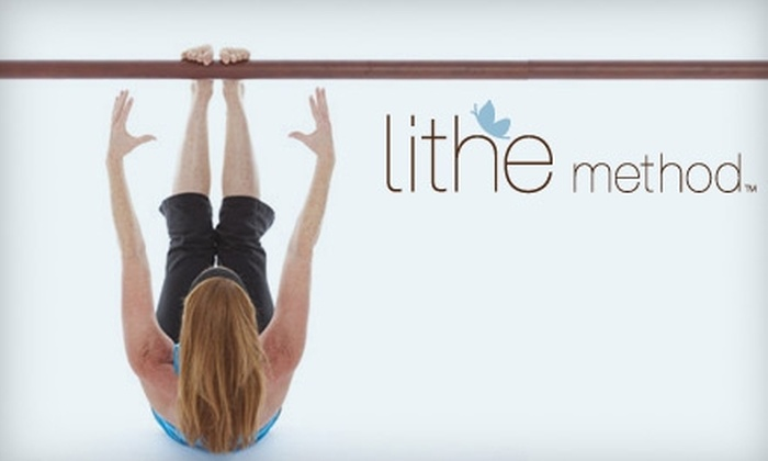 Lithe Method - Multiple Locations: $30 for Three Lithe 101 Sculpting Barre Classes at Lithe Method ($60 Value)