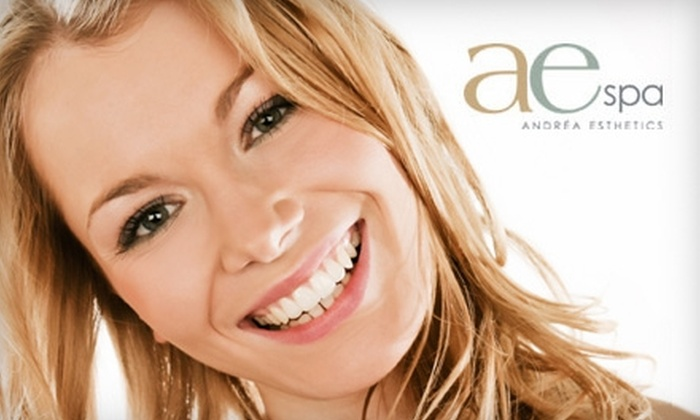 AE Spa - Brighton: $99 for a SpaWhite Teeth Whitening ($229 Value) or $45 for a Signature Facial at AE Spa ($95 Value)