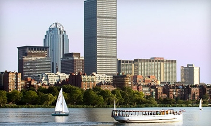 Charles Riverboat Company - Cambridge: $9 for a Boat Tour from Charles Riverboat Company (Up to $16.80 Value)