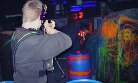 2 Games of Laser Tag Apiece for 2 Players - Laser Kingdom in Farmingdale