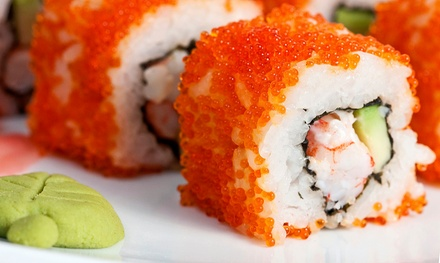 Japanese Food at Mikado (Up to 49%Off). Two Options Available.