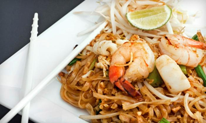 Thai Jasmine Restaurant - Rancho Cordova: $10 for $20 Worth of Thai Cuisine at Thai Jasmine Restaurant in Rancho Cordova