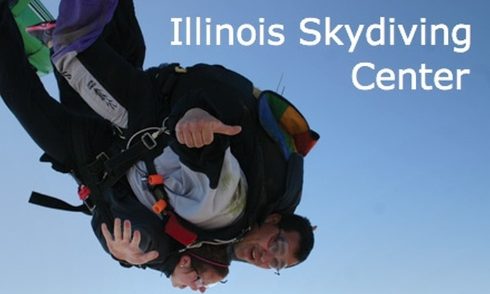 Illinois Skydiving Center - Rantoul: $119 for a Tandem Skydiving Jump at Illinois Skydiving Center ($199 Value)
