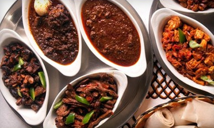Lalibela Ethiopian Restaurant - Lalibela Restaurant: Ethiopian Cuisine at Lalibela Ethiopian Restaurant (Up to 53% Off). Four Options Available.