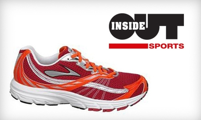 Inside-Out Sports - Cary: $25 for $50 Worth of Running Shoes at Inside-Out Sports