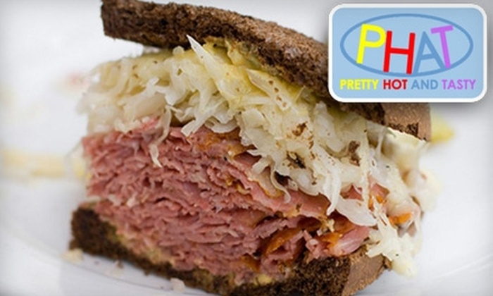 PHAT Deli - Downtown Vancouver: $5 for $10 Worth of Fresh Deli Fare and Breakfast at Phat Deli
