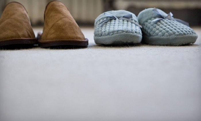 Clean Image - Beverwyck: $70 for Two-Room Carpet Cleaning from Clean Image ($140 Value)