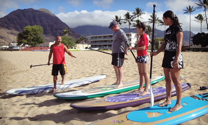 Sea & Board Sports Hawaii - Hawaii-Haleiwa: $44 for a Two-Hour Standup Paddleboard Lesson at Sea & Board Sports Hawaii in Kapolei ($89 Value)