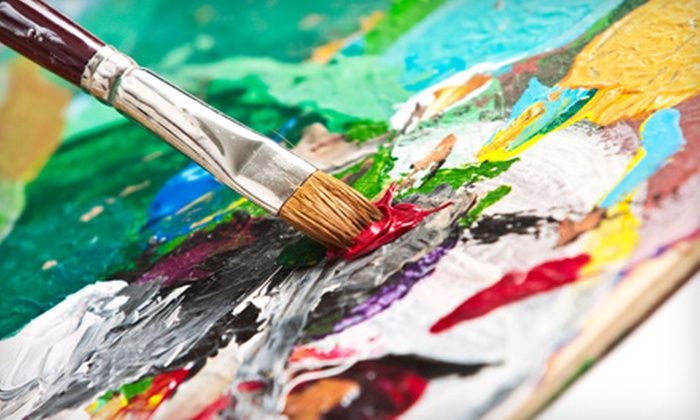 Create Your Canvas Painting Studio - Create Your Canvas: Painting Class at Create Your Canvas Painting Studio in Oakland Park (Up to 57% Off). Three Options Available.