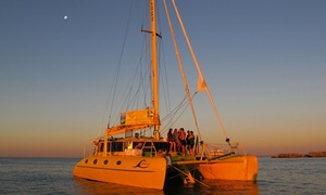 Charter1: 2-Hour Twilight Sail with Gourmet Platter and Drinks for One ($69) or Two People ($138) with Charter1 (Up to $196 Value)