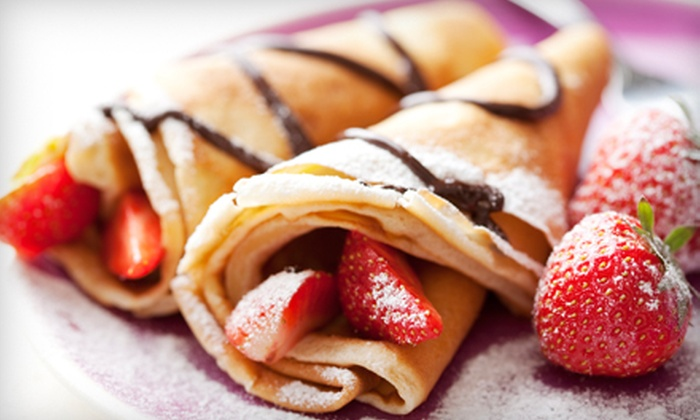 Fruitzzy - Federal Hill: $10 for Four Groupons, Each Good for $5 Worth of Crepes, Smoothies, and Waffles at Fruitzzy ($20 Total Value)