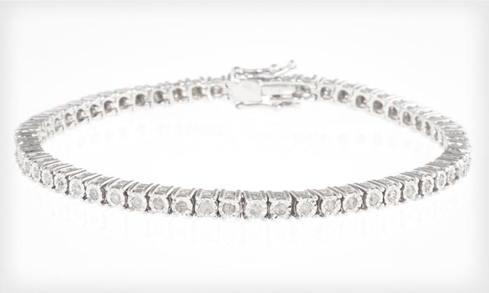 1-Carat Diamond Tennis Bracelet: $199.99 for a 1-Carat Diamond Tennis Bracelet with a Silver Setting ($1,349 list price). Free Shipping and Returns.
