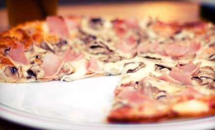 $30 for Two Groupons, Each Good for $30 Worth of Pizza, Salad, and Sandwiches at Blue & Gold Pizza ($60 Total Value)