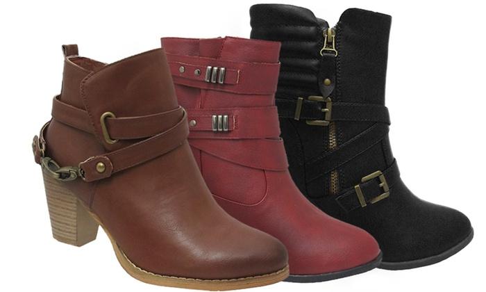 AXNY Women's Aniya or Abria Boots: AXNY Women's Aniya Ankle Boots or Abria Ankle Booties