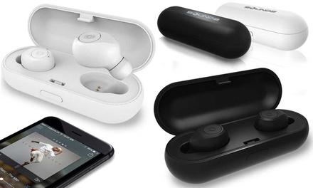 Black or White Wireless Stereo Earphones