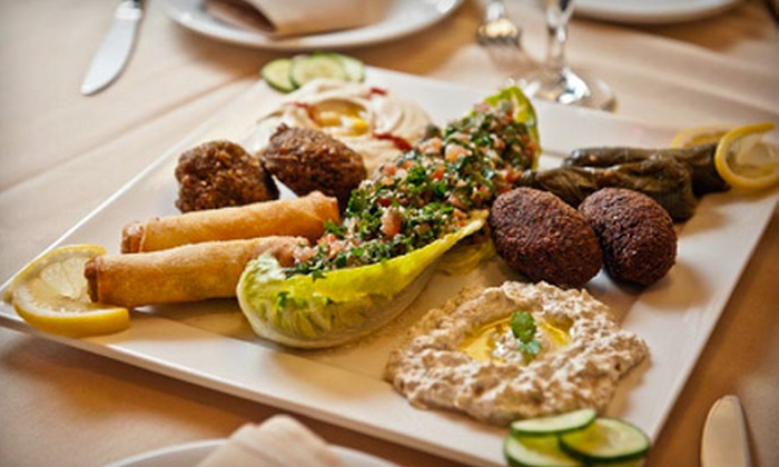 Arabian Nights Restaurant - Mission: Mediterranean Cuisine at Arabian Nights Restaurant (Up to 52% Off). Two Options Available.