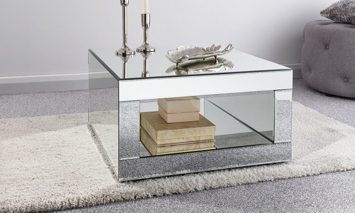 Mirrored Living Room Collection Groupon