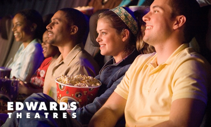Regal Entertainment Group - Houston: Movie Outing for Two or Four to Edwards Theater at West Oaks Mall (Half Off)