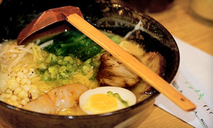 Hokkaido Noodle House - Land Park: $10 for $20 Worth of Japanese–Style Noodles at Hokkaido Noodle House