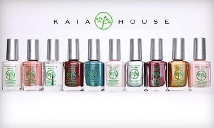 Kaia House: $10 for $20 Worth of Organic and Natural Beauty Products Online from Kaia House